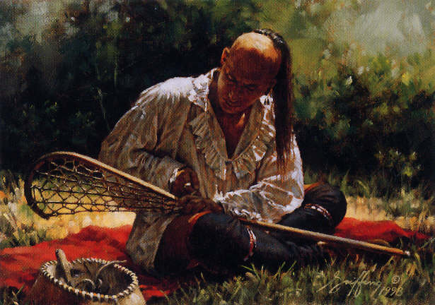 a look at the game of lacrosse played by the american indians Marr grabbed his wooden lacrosse stick and joined thompson and others for lacrosse in its purest form, a medicine game played by american indians look.