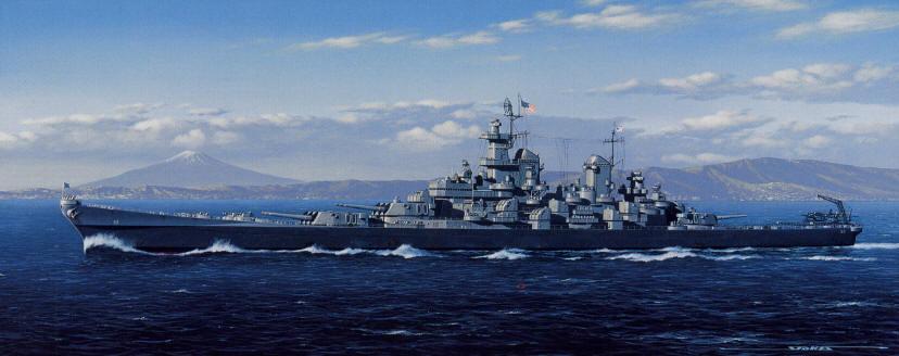 USS Iowa Class Battleships