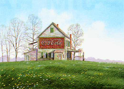 Coca Cola and Spring Flowers.jpg (48348 bytes)