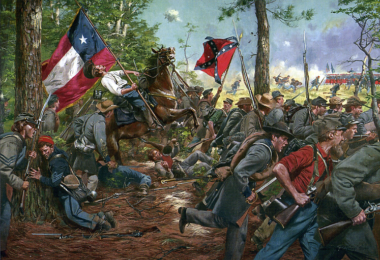 Confederate Army: 5th Texas Volunteer Infantry Regiment, Co.D The_5th_Texas