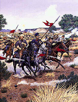 charge of Tx Lancers.jpg (39260 bytes)