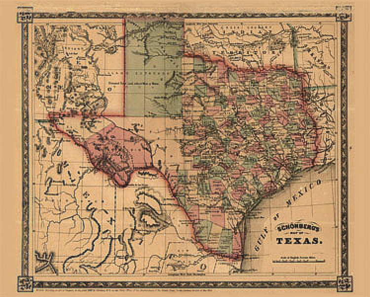 Gary Crouch Texas Map Of - Texas map puzzle